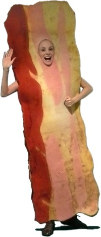 How To Make A Bacon Costume For Halloween
