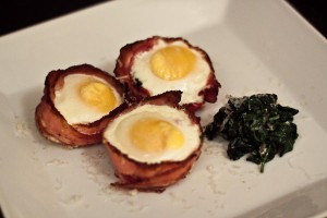 The Ultimate Bacon And Eggs Recipe – Bacon Cups: done