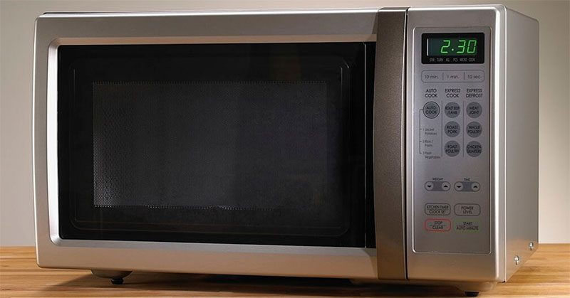 microwave bacon